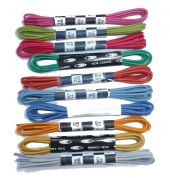 75cm BRITISH QUALITY Fine Cotton Waxed Dress Laces Bright New Colours